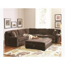 2 Pieces Sectional - Velvet  sc 1 st  Miami Furniture Mattress : traditional sectionals - Sectionals, Sofas & Couches